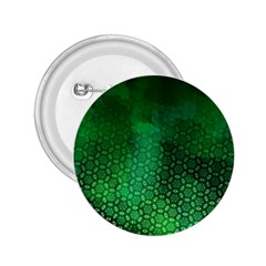 Ombre Green Abstract Forest 2.25  Buttons