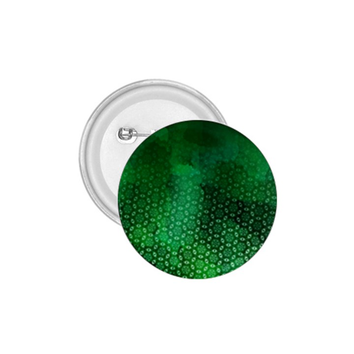 Ombre Green Abstract Forest 1.75  Buttons