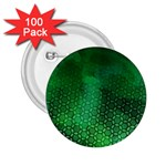 Ombre Green Abstract Forest 2.25  Buttons (100 pack)  Front