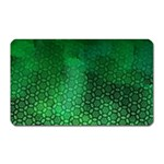 Ombre Green Abstract Forest Magnet (Rectangular) Front