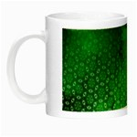 Ombre Green Abstract Forest Night Luminous Mugs Left