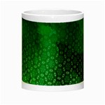 Ombre Green Abstract Forest Night Luminous Mugs Center