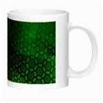 Ombre Green Abstract Forest Night Luminous Mugs Right