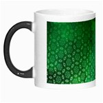Ombre Green Abstract Forest Morph Mugs Left