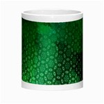 Ombre Green Abstract Forest Morph Mugs Center