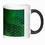 Ombre Green Abstract Forest Morph Mugs Right
