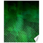 Ombre Green Abstract Forest Canvas 8  x 10  10.02 x8 Canvas - 1