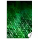 Ombre Green Abstract Forest Canvas 20  x 30   30 x20 Canvas - 1