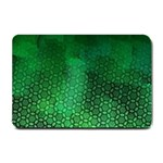 Ombre Green Abstract Forest Small Doormat  24 x16 Door Mat - 1