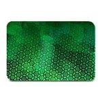 Ombre Green Abstract Forest Plate Mats 18 x12 Plate Mat - 1