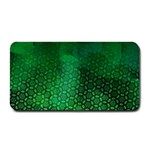 Ombre Green Abstract Forest Medium Bar Mats 16 x8.5 Bar Mat - 1