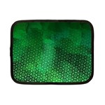 Ombre Green Abstract Forest Netbook Case (Small)  Front