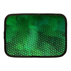 Ombre Green Abstract Forest Netbook Case (Medium)