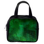Ombre Green Abstract Forest Classic Handbags (2 Sides) Back