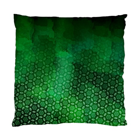 Ombre Green Abstract Forest Standard Cushion Case (One Side)
