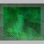 Ombre Green Abstract Forest Canvas 10  x 8  10  x 8  x 0.875  Stretched Canvas