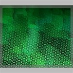Ombre Green Abstract Forest Canvas 24  x 20  24  x 20  x 0.875  Stretched Canvas