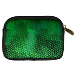 Ombre Green Abstract Forest Digital Camera Cases Back