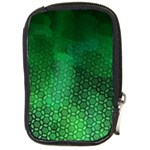 Ombre Green Abstract Forest Compact Camera Cases Front