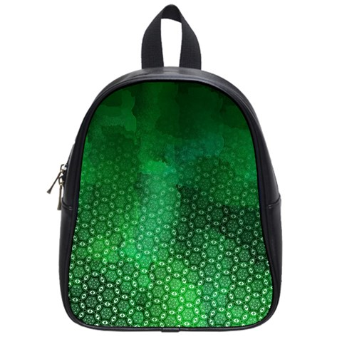 Ombre Green Abstract Forest School Bags (Small)