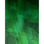 Ombre Green Abstract Forest Large Memo Pads 4.125 x5.5  Memopad