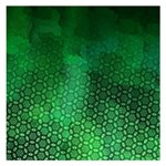 Ombre Green Abstract Forest Small Memo Pads 3.75 x3.75  Memopad