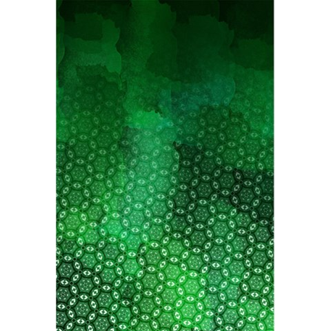 Ombre Green Abstract Forest 5.5  x 8.5  Notebooks