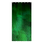 Ombre Green Abstract Forest Shower Curtain 36  x 72  (Stall)  33.26 x66.24 Curtain