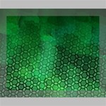 Ombre Green Abstract Forest Deluxe Canvas 20  x 16   20  x 16  x 1.5  Stretched Canvas