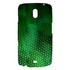 Ombre Green Abstract Forest Samsung Galaxy Nexus i9250 Hardshell Case