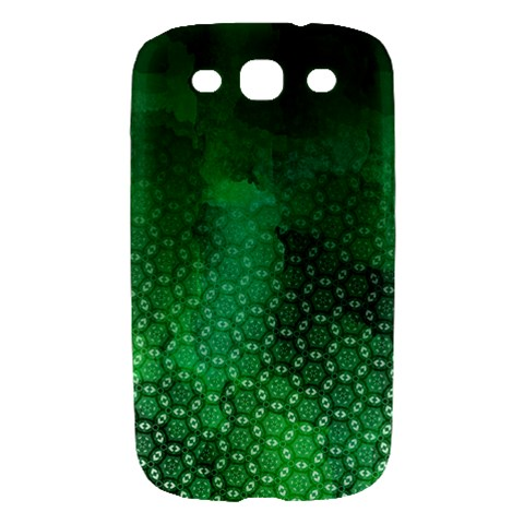 Ombre Green Abstract Forest Samsung Galaxy S III Hardshell Case