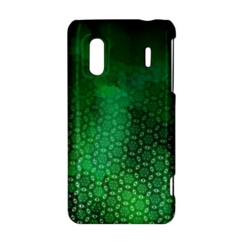 Ombre Green Abstract Forest HTC Evo Design 4G/ Hero S Hardshell Case