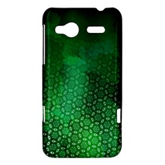 Ombre Green Abstract Forest HTC Radar Hardshell Case