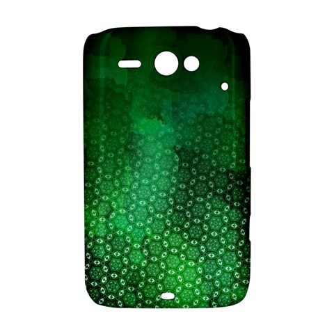 Ombre Green Abstract Forest HTC ChaCha / HTC Status Hardshell Case