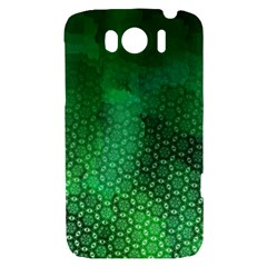 Ombre Green Abstract Forest HTC Sensation XL Hardshell Case