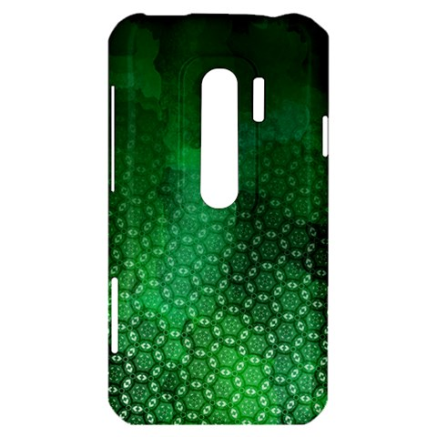 Ombre Green Abstract Forest HTC Evo 3D Hardshell Case
