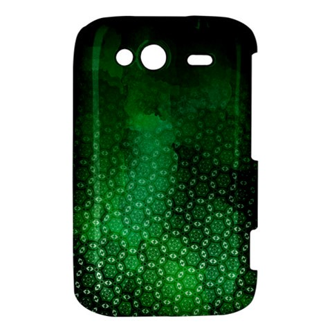 Ombre Green Abstract Forest HTC Wildfire S A510e Hardshell Case