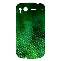 Ombre Green Abstract Forest HTC Desire S Hardshell Case