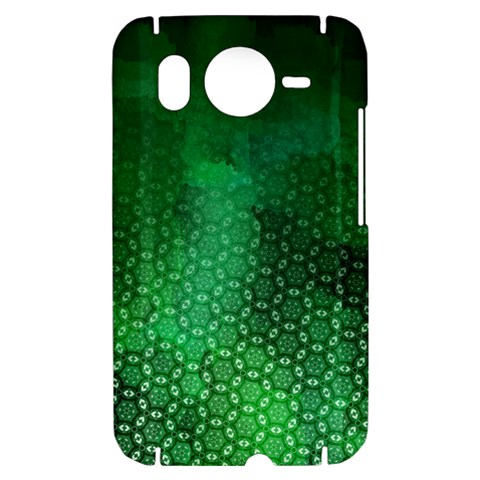 Ombre Green Abstract Forest HTC Desire HD Hardshell Case