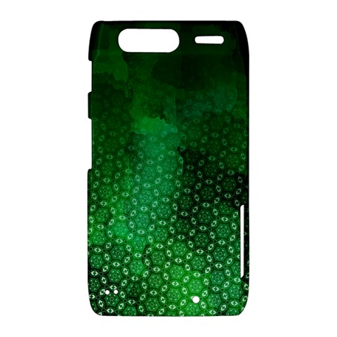 Ombre Green Abstract Forest Motorola Droid Razr XT912