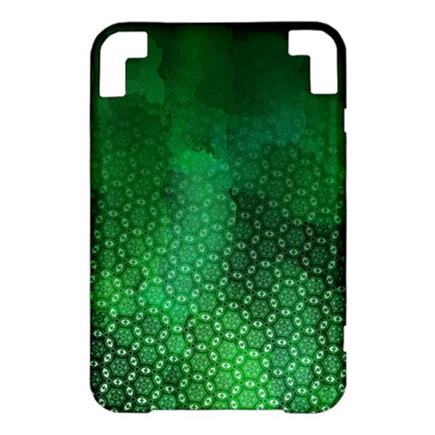 Ombre Green Abstract Forest Kindle 3 Keyboard 3G