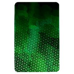 Ombre Green Abstract Forest Kindle Fire (1st Gen) Hardshell Case