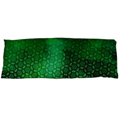 Ombre Green Abstract Forest Body Pillow Case (Dakimakura)