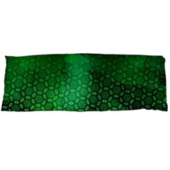 Ombre Green Abstract Forest Body Pillow Case Dakimakura (Two Sides)
