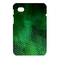 Ombre Green Abstract Forest Samsung Galaxy Tab 7  P1000 Hardshell Case