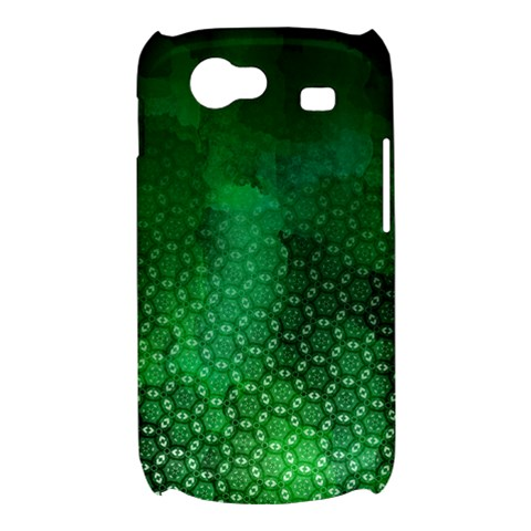 Ombre Green Abstract Forest Samsung Galaxy Nexus S i9020 Hardshell Case