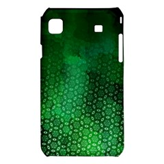 Ombre Green Abstract Forest Samsung Galaxy S i9008 Hardshell Case