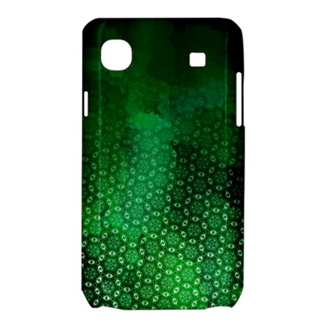 Ombre Green Abstract Forest Samsung Galaxy SL i9003 Hardshell Case