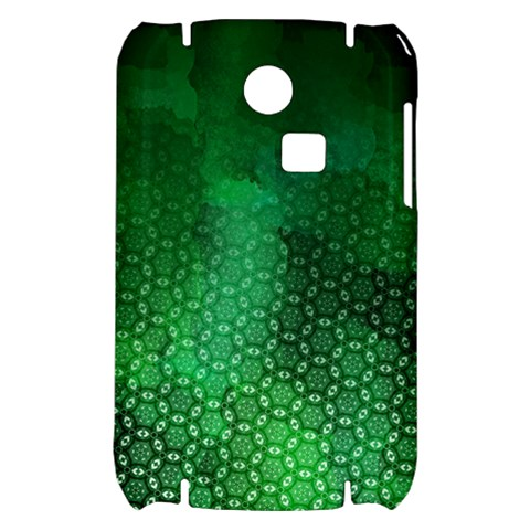 Ombre Green Abstract Forest Samsung S3350 Hardshell Case