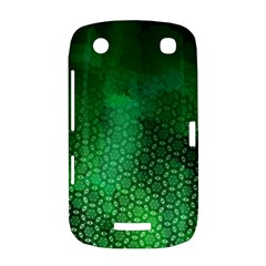 Ombre Green Abstract Forest BlackBerry Curve 9380